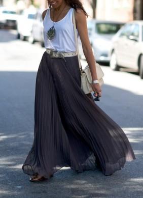 grey-maxi-skirt