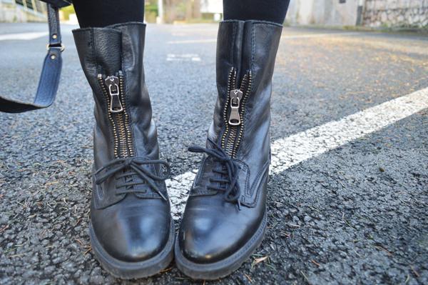 Look-mode-boots-cuir-noir