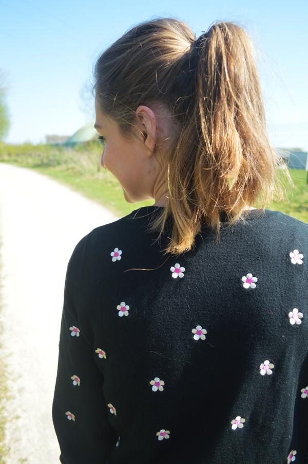 Pull-a-fleurs-mode
